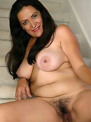 Mature busty hairy fuck