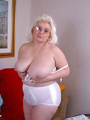 Bra granny pics in